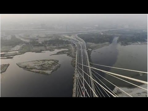 Watch: India's the first asymmetrical cable-stayed, Delhi's Signature Bridge