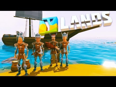 Ylands - BUILDING The GIANT SHIP And SURVIVING The STORM! -  Ylands Gameplay