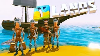 Video Ylands - BUILDING the GIANT SHIP and SURVIVING the STORM! -  Ylands Gameplay download MP3, 3GP, MP4, WEBM, AVI, FLV Oktober 2018