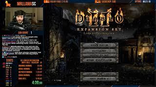 Diablo 2 - HELL HC ASSASSIN SPEEDRUN