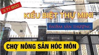 Bán nhà Hóc Môn sổ hồng 2019 ✅ 6x18m gần chợ Nông Sản Hóc Môn