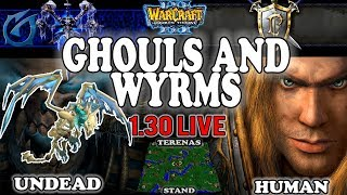 Grubby | Warcraft 3 TFT | 1.30 LIVE | UD v HU on Terenas Stand - Ghouls and Wyrms