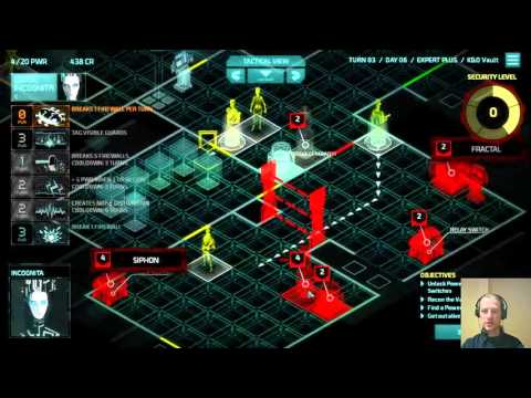 Invisible, Inc. 10-15 Contingency Plan