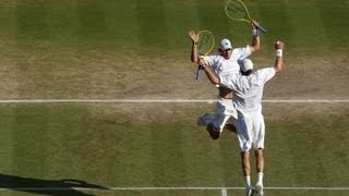 Wimbledon: 2013 Gentlemen's Doubles Champions the Bryan Brothers talks
