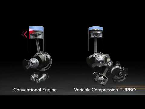 INFINITI VC-Turbo Engine Film