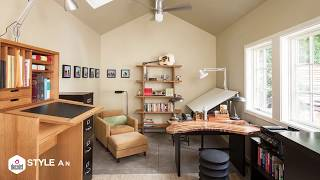 Smart Ideas to Turn Your Garage into a Home Office – Photos, Tips