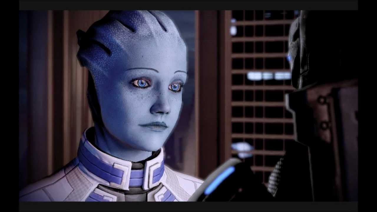 mass effect relationship with ashley and liara