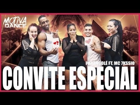 Convite Especial - Parangolé MC 7Kssio  Motiva Dance Coreografia
