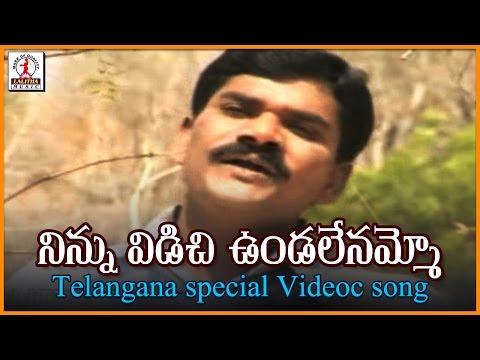 Ninnu Vidichi Vundalenamma Video Song | Telugu Janapada Geetalu | Lalitha Audios And Videos