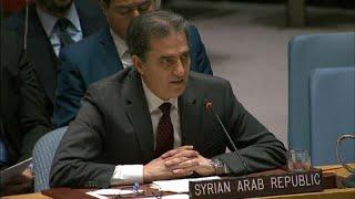 شاهد: تبادل للشتائم وتوتر حاد بين ممثلي سوريا وروسيا وتركيا في مجلس الأمن…