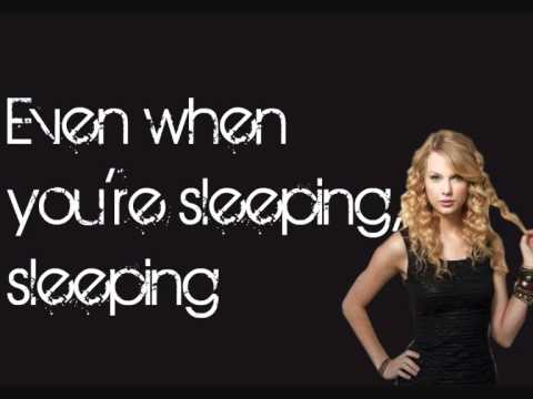 Taylor Swift - Eyes Open (Lyrics On Screen)