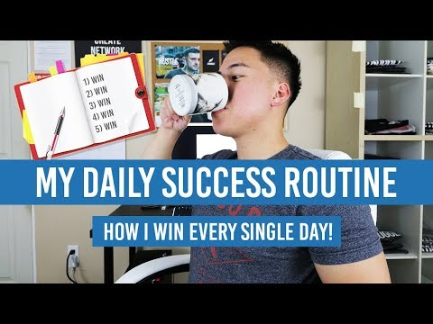 My Daily SUCCESS Routine: How I WIN Every SINGLE DAY