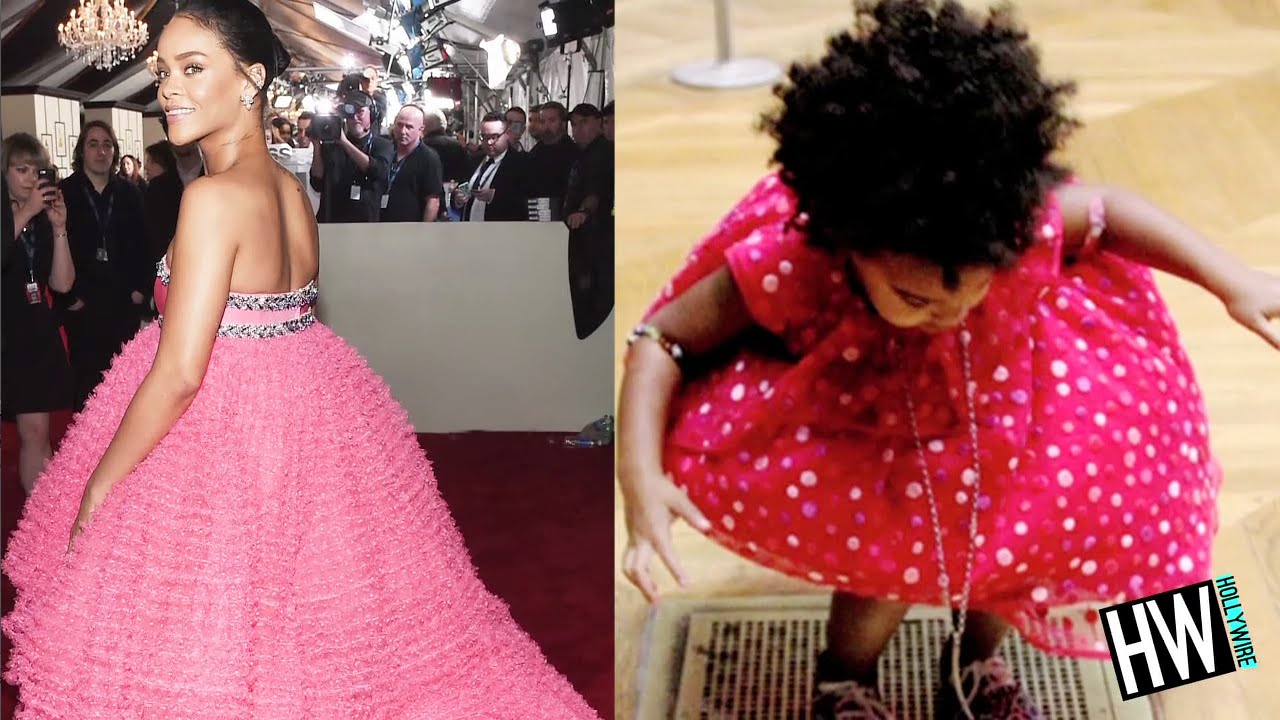 Rihanna Vs. Blue Ivy: Who's Prettier In Pink?! (Fresh Trend Showdown ... Rihanna Youtube