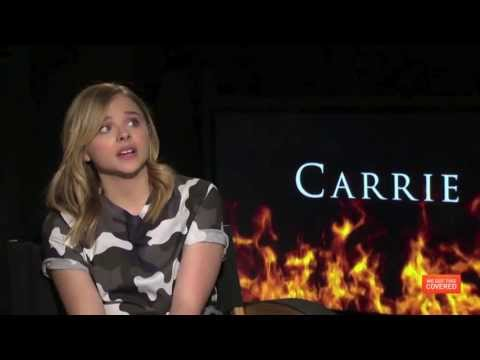 Carrie Interview With Julianne Moore, Chloe Moretz, Judy Greer And Kimberly Peirce [HD]