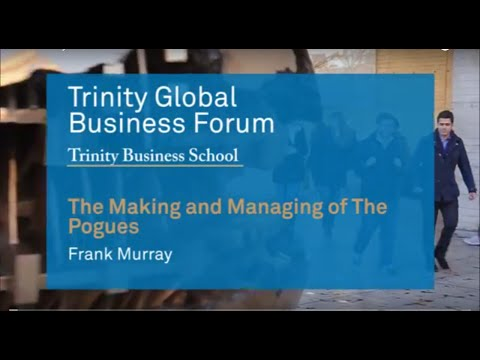 A snapshot of Frank Murray's keynote speech at the Trinity Global Business Forum 2016