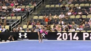 Morgan Hurd – Floor – 2014 P&g Championships – Jr. Women