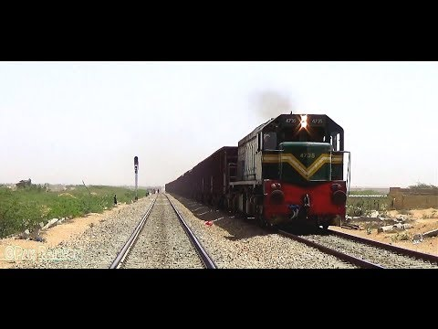 Iron Horse Of Pakistan Railways GM EMD 4705 Leads KC Bound Freight