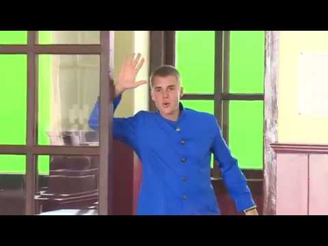 Justin Bieber_ Behind the scenes promotional video clip for Softbank