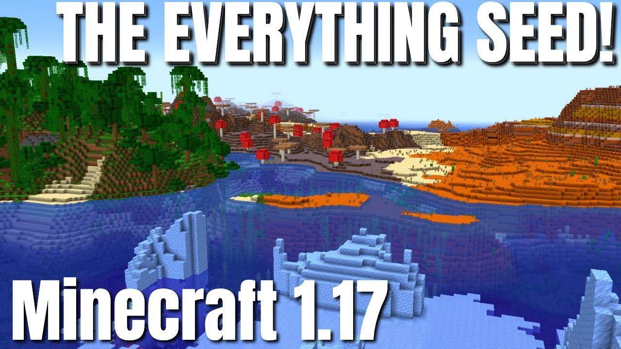 Minecraft Best Seed 1.17 | Every Structure near spawn | Mansion Monument Stronghold. Great Speed Run