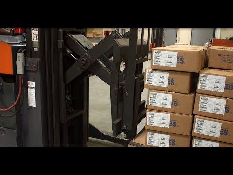 OILES Material Handling Video