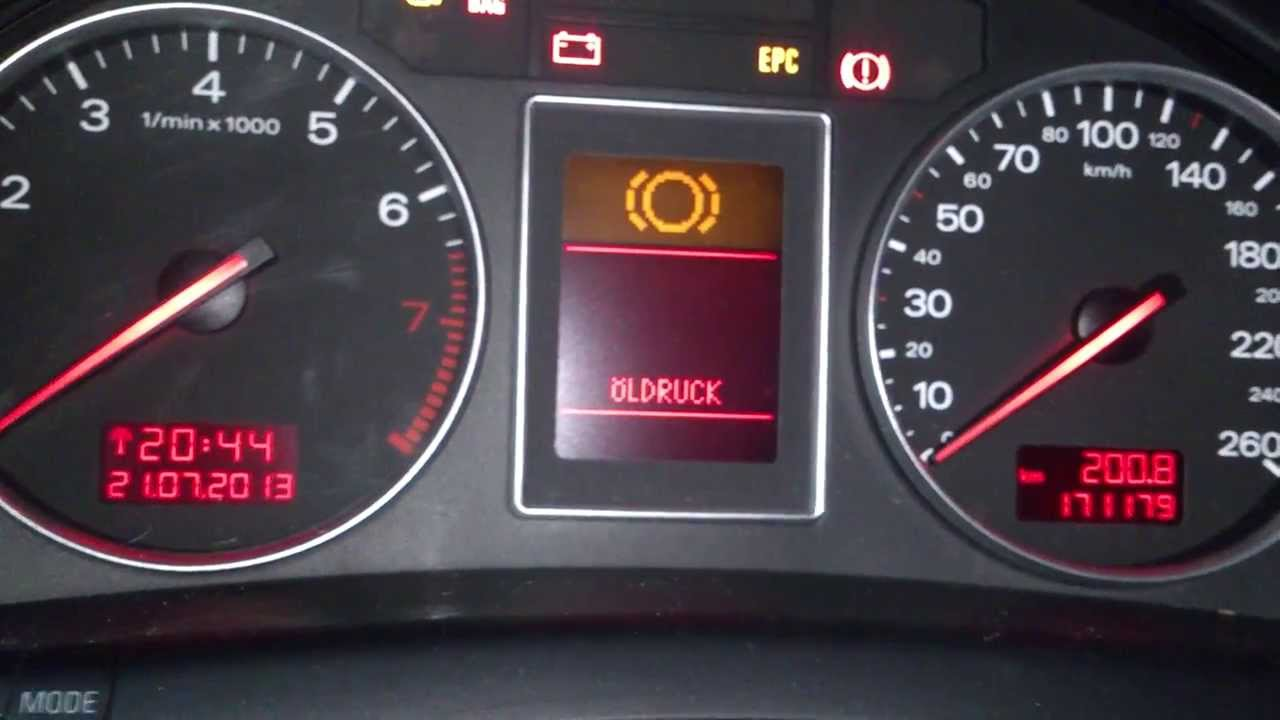 audi a4 1.6 check function - youtube