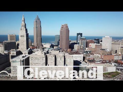 Cleveland, Ohio | Progressive Field | Key Tower | Lake Erie