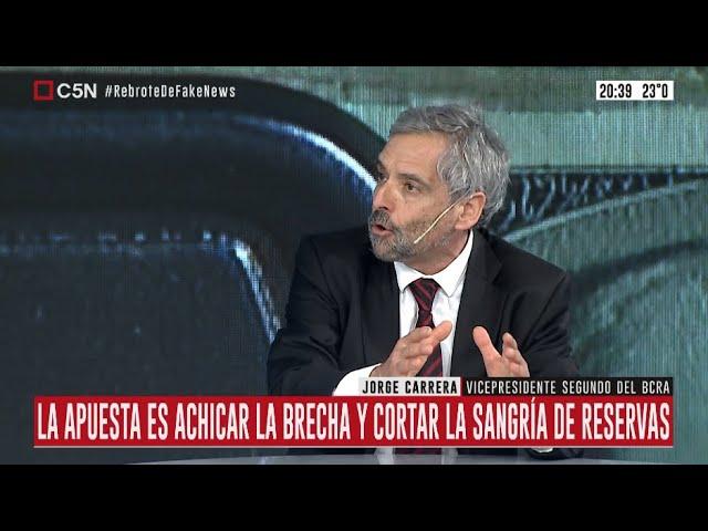 Entrevista a Jorge Carrera, vicepresidente segundo del Banco Central, en Minuto Uno