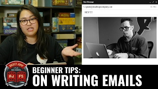 Beginner Tips: On Writing Emails