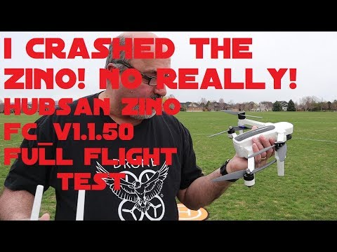 I Crashed the Zino!  FC_V1.1.50 Full Flight Test Review
