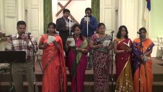 Telugu Christian Worship Song Silvalo Naakai Kaarchenu Yesu Rakthamu By FBCTS, Rahway NJ