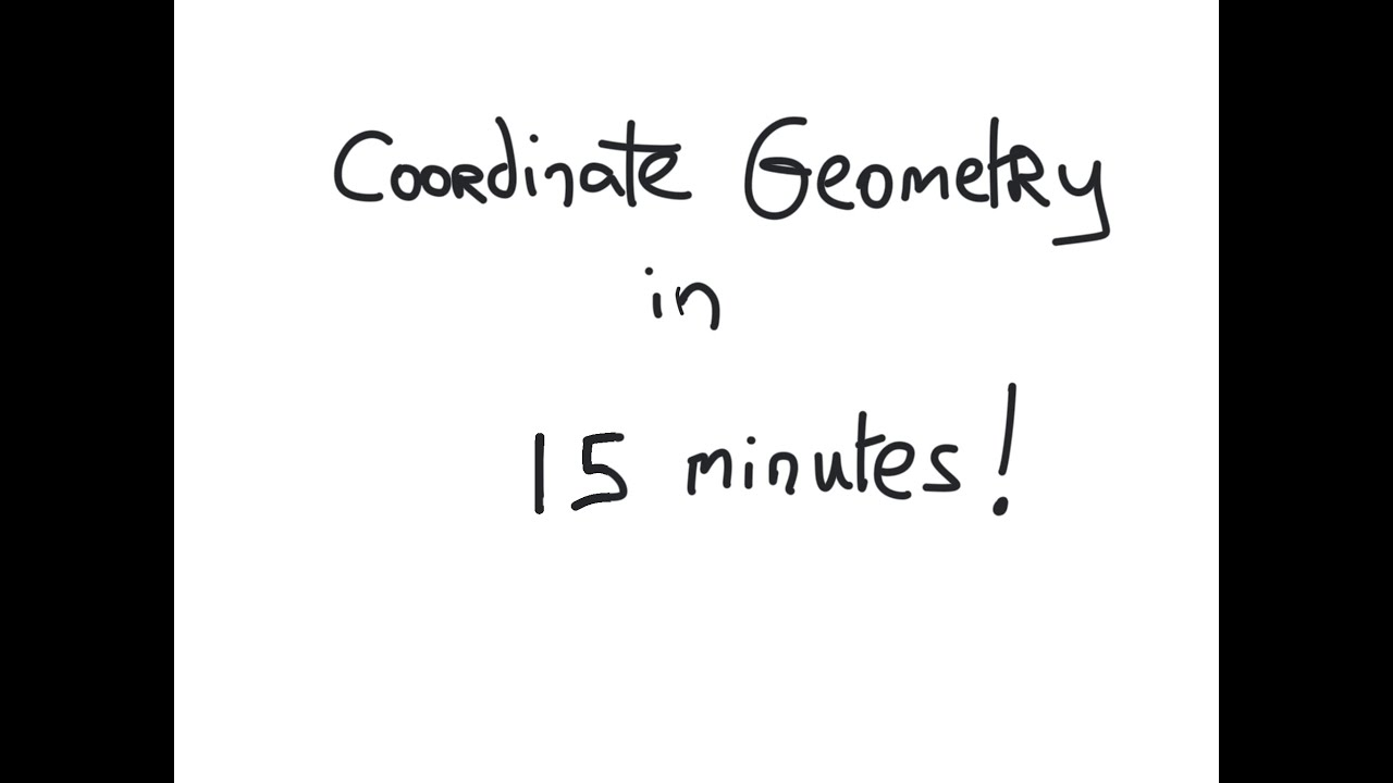 Junior Cert Maths Paper 2 - Coordinate Geometry Summary