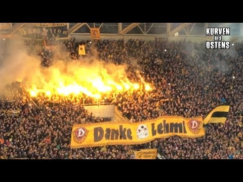 SG Dynamo Dresden 4:0 FC Erzgebirge Aue 03.12.2017 | Support & Pyro