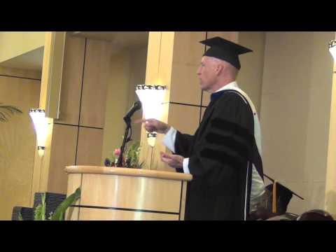 CAPT Scott Johnston Commencement Speech at Palo Alto University 2014