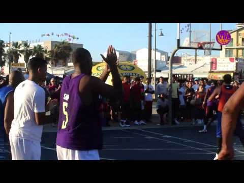 Metta World Peace and his Team go HARD at the Venice Basketball League