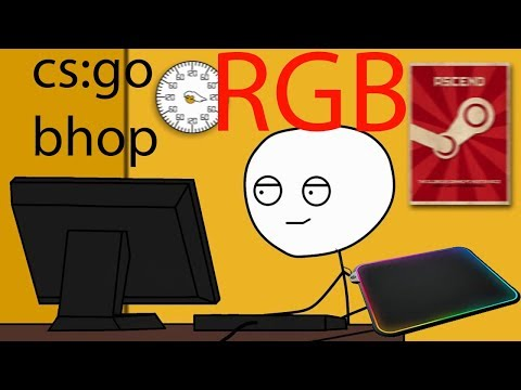 What it feels like to get a RGB mousepad
