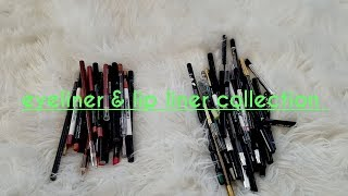 Makeup Collection 2018: Lipliner and Eyeliner Collection