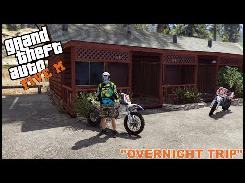 GTA 5 ROLEPLAY - OVER NIGHT DIRT BIKE TRIP - EP. 169 - CIV