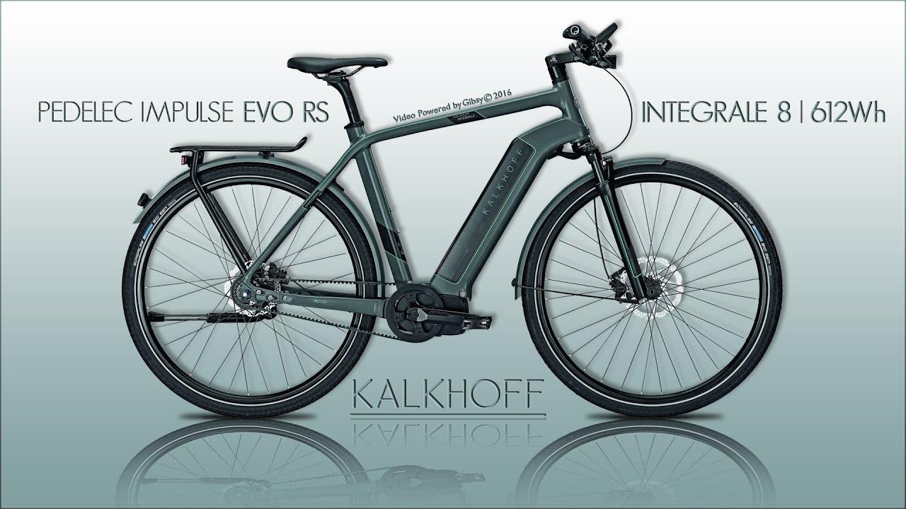 ebike kalkhoff integrale 8 612wh pedelec impulse evo rs hd youtube. Black Bedroom Furniture Sets. Home Design Ideas
