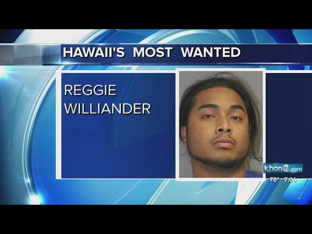 Hawaiis Most Wanted:  Reggie Williander