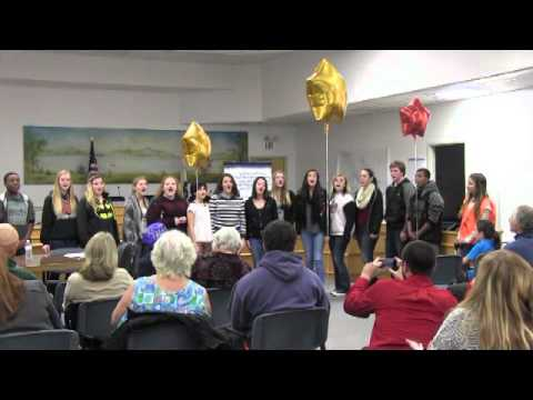 Lower Lake High School Show Choir 1-25-16