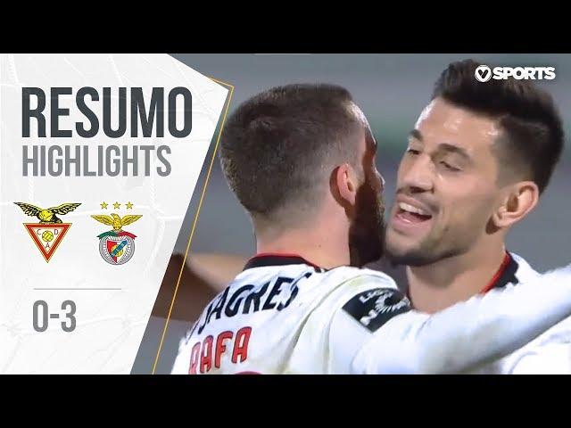 Highlights   Resumo: Aves 0-3 Benfica (Liga 18/19 #22)