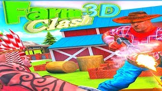 FARM CLASH 3D - EPIC GAMEPLAY - ONLINE GAME (HD)
