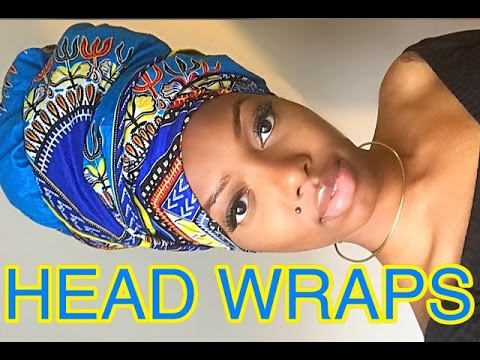 Head Wrap Tutorial | 6 Ways + GIVEAWAY
