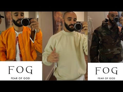 Fear of God FOG X Pacsun Collection two try on+  DROP (savage people almost trampled me)