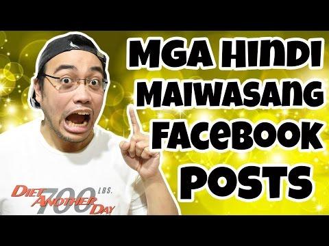 Mga Hindi Maiwasang Facebook Posts | Tagalog | potsquared