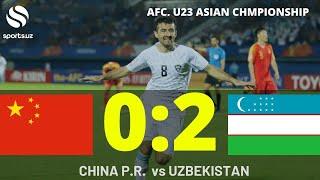 xITOY VS UZBEKISTAN
