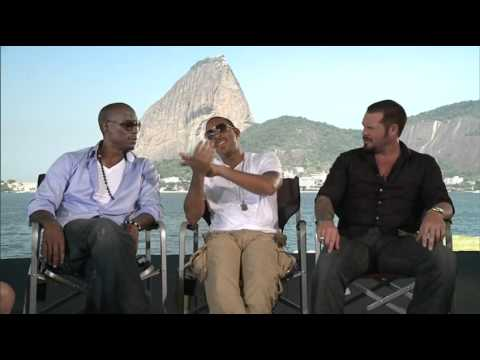 Fast Five  Fast and Furious 5 Rio Heist   Tyrese Gibson  Ludacris and Matt Schulze