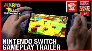Mario + Rabbids Kingdom Battle: Nintendo Switch Gameplay Trailer | Ubisoft [US]