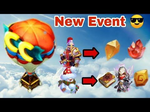 New Event | Exchange Heroes | Rip Paladin | Castle Clash |
