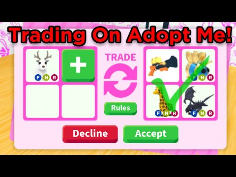 What People Trade For Neon Arctic Reindeer Roblox Adopt Me Youtube